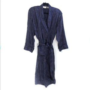 Victoria's Secret Vintage Satin Robe Purple M/L